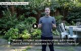 Mark Zuckerberg wylał na siebie kubeł wody. I wzywał kolejnych [FILM]