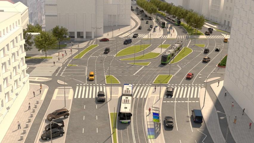 Tak będzie wyglądał nowy układ drogowy na placu Żołnierza Polskiego