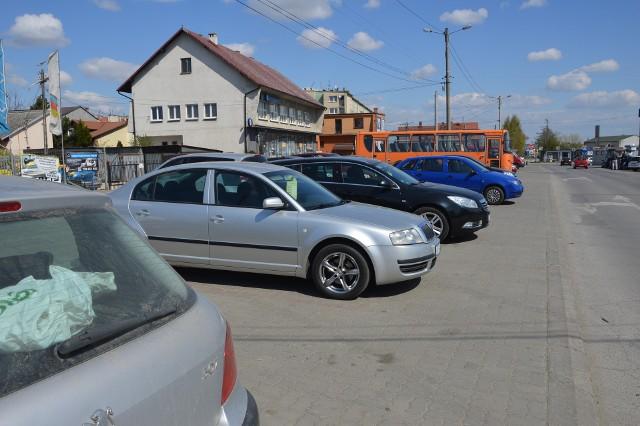 Parking przy ulicy Kolejowe jeszcze bezpłatny
