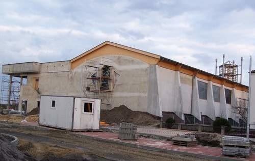 Oleski basenw budowie. (fot. Mirosław Dragon)