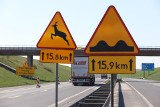 Autostrada A1. Utrudnienia w ruchu na autostradzie. Uwaga! NA A1 będą malować pasy. Wystąpią utrudnienia w ruchu