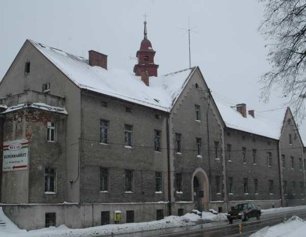 Stary szpital zbudowano przed 150 laty.