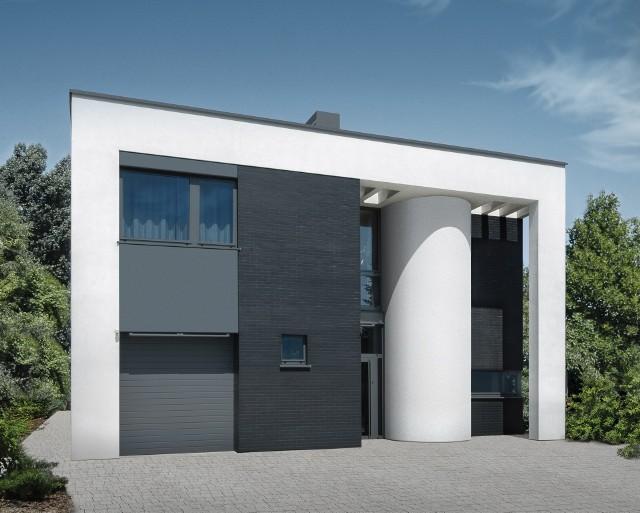 Dom jednorodzinny w stylu modernistycznym (WIZUALIZACJE)Dom jednorodzinny w stylu modernistycznym (WIZUALIZACJE)