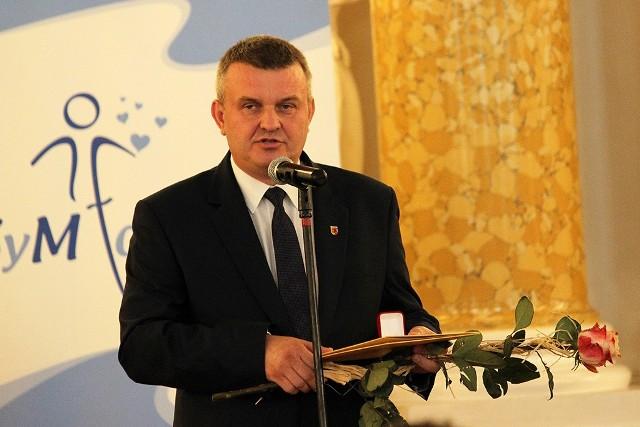 Starosta sieradzki Mariusz Bądzior