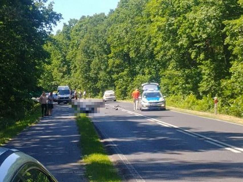 Do śmiertelnego wypadku doszło 16 czerwca w okolicy Białcza...