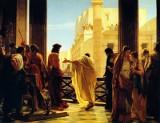 Tym, który wydał wyrok śmierci na Chrystusa, był Piłat. Ale w przesłuchiwaniu Skazańca brali udział także Annasz, Kajfasz i Herod Antypas
