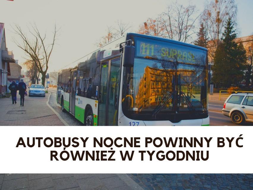 Komunikacja miejska w Białymstoku pozostawia wiele do życzenia. Internauci wskazali, co należy poprawić w BKM