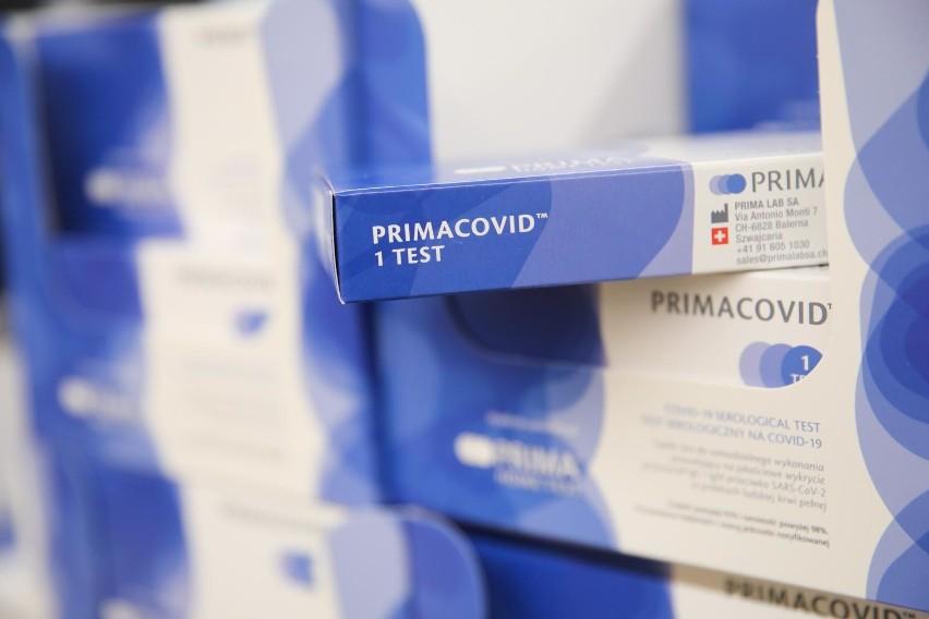 Koronawirus w Polsce. Testy na obecność przeciwciał COVID-19...