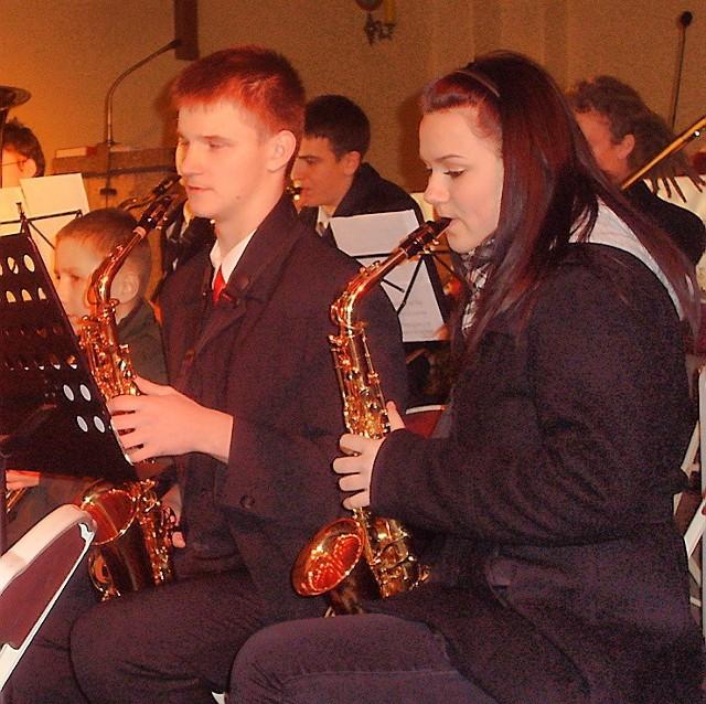 Pięknie zagrała  m.in. orkiestra dęta WDK
