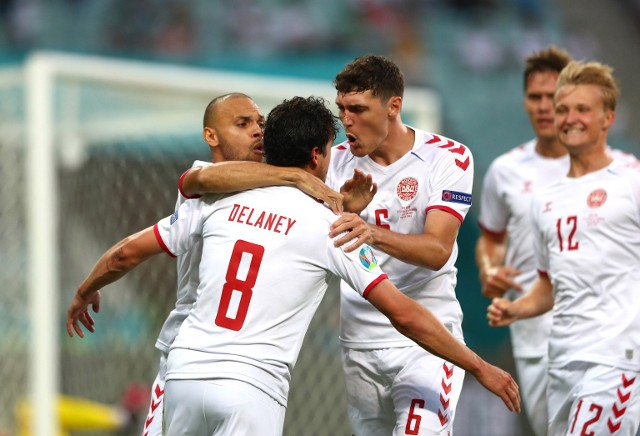 Euro 2020. Mecz Czechy - Dania 1:2