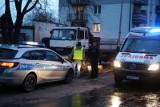 Śmiertelny wypadek we Wrocławiu. Dźwig przygniótł mężczyznę [ZDJĘCIA]