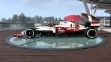F1 2021. W grze nie ma Roberta Kubicy, ale jest bolid Alfa Romeo Racing Orlen. Zobacz, jak wygląda