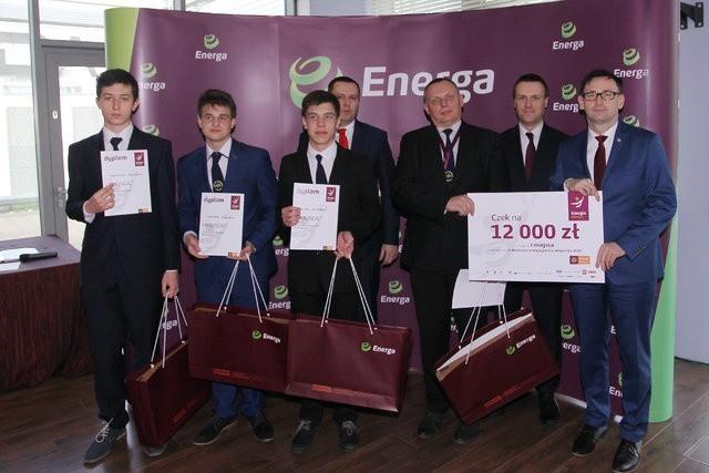 Zwycięzcy konkursu z Zespołu Szkół Elektrycznych