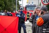 Białystok. Eksplozja gazu w domu przy ul. Kasztanowej. Prokuratura umorzyła śledztwo w sprawie śmierci czteroosobowej rodziny