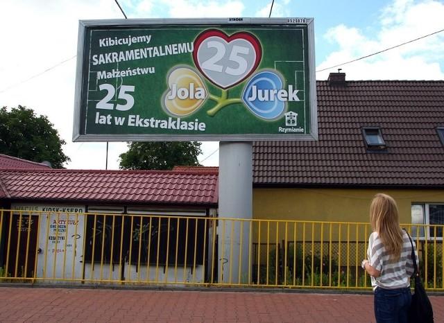 Nietypowy billboard szczecinianie będą mogli podziwiać do końca czerwca.
