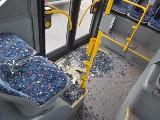 Gwałtowne hamowanie autobusu i poszkodowani pasażerowie. Winny: pijany 22-latek ZDJĘCIA