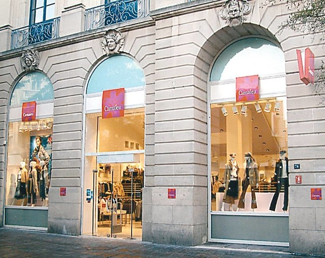 Tak wyglądają sklepy Camaïeu na świecie. Fot. Camaïeu
