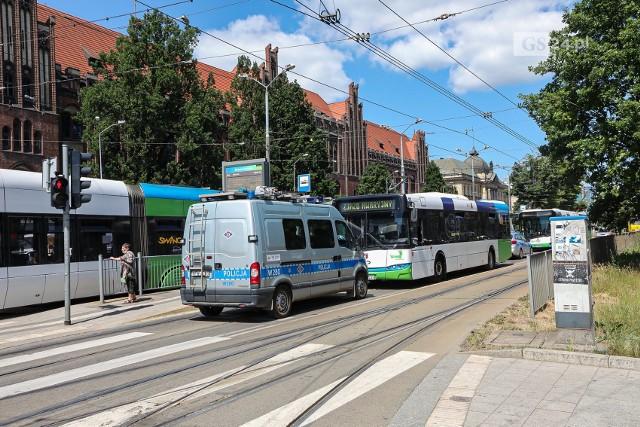 Wypadek na Bramie Portowej w Szczecinie