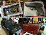 Zabójcze... trunki - karabiny, pistolety i ...delfiny
