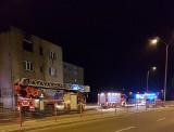 Pożar w hotelu Iga. Ewakuacja kilkudziesięciu osób (zdjęcia)