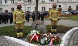 Kwiaty i msza na święto strażaków i kominiarzy - na bardziej huczne obchody trzeba jeszcze poczekać