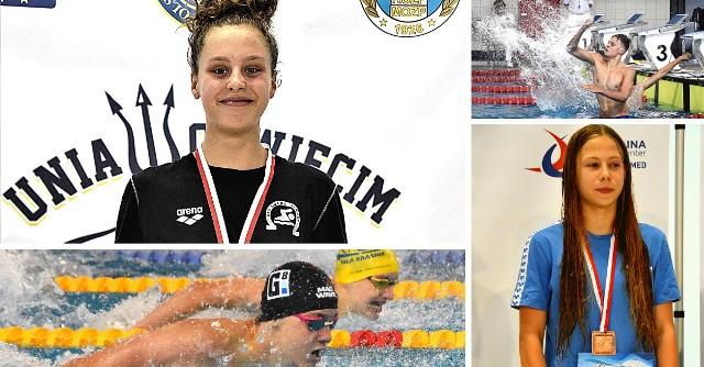 II dzień MP juniorów 15-letnich w pływaniu rozgrywanych w Oświęcimiu obfitował w wiele emocji i kolejne medale