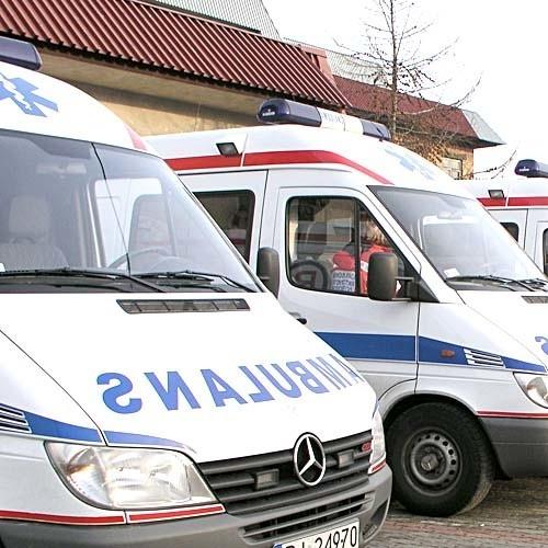 Rannych odwieziono do szpitala w Grajewie
