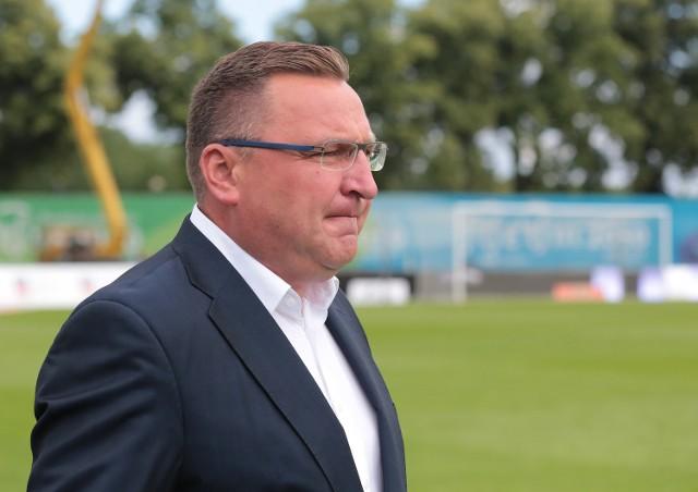 Czesław Michniewicz, trener Pogoni Szczecin.