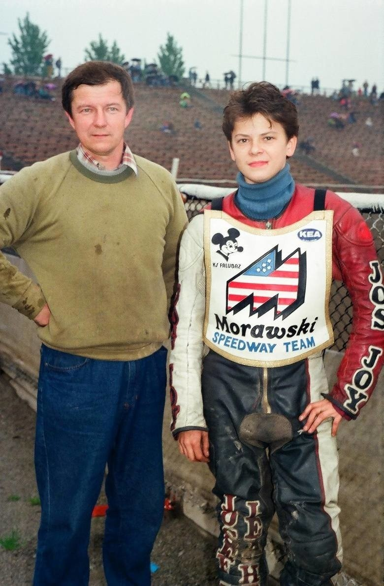 Żużlowe prawo jazdy Piotr Protasiewicz zdobył 7 maja 1991...