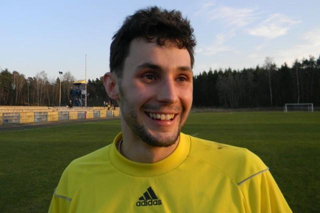 Mateusz Krawczyk ma za sobą udany sezon w Nowotańcu.