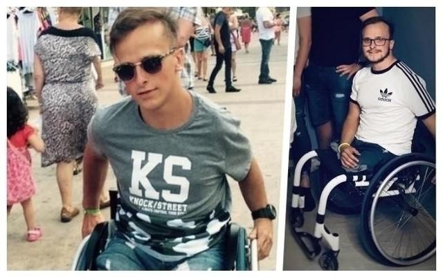 Martin Burak z Chorzowa potrzebuje profesjonalnych protez nóg, by móc samodzielnie żyć