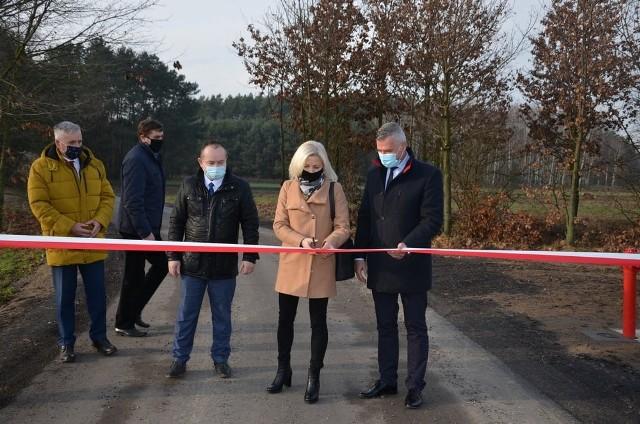 Oficjalne otwarcie nowej drogi odbyło się w środę, 16 grudnia.