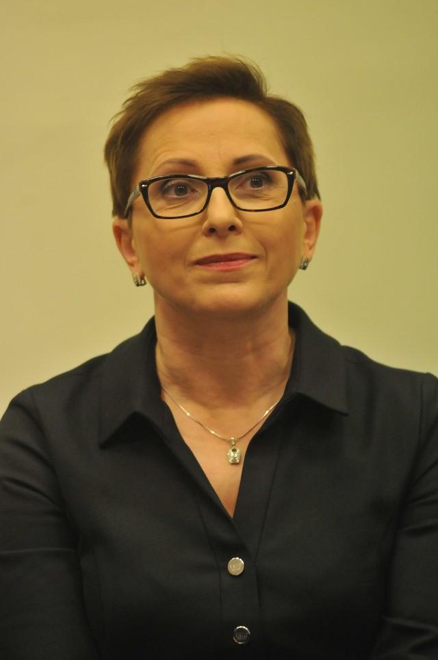 Posłanka Krystyna Sibińska z Gorzowa