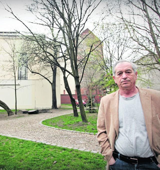 - Teren przy synagodze nam się po prostu należał - mówi Aleksander Gleichgewicht, przewodniczący Gminy Żydowskiej