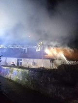 Śmiertelna ofiara pożaru w Wydawach. Mężczyzna nie zdążył opuścić mieszkania [ZDJĘCIA]