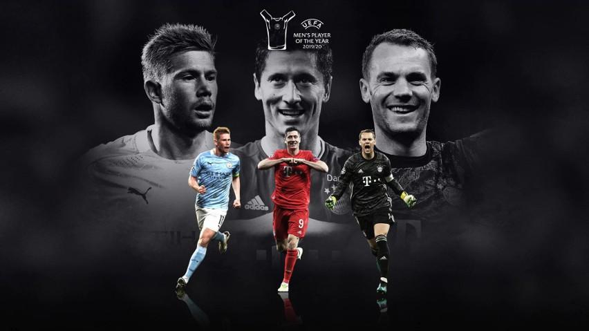 Finałowa trójka nagrody Piłkarz Roku UEFA