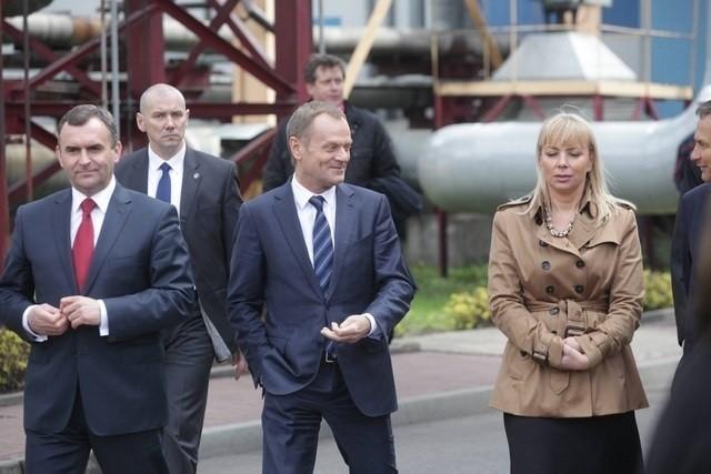 Premier Donald Tusk w Elektrowni Jaworzno