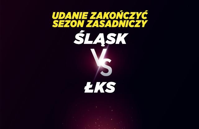 ŚLĄSK VS ŁKS OKŁADKA