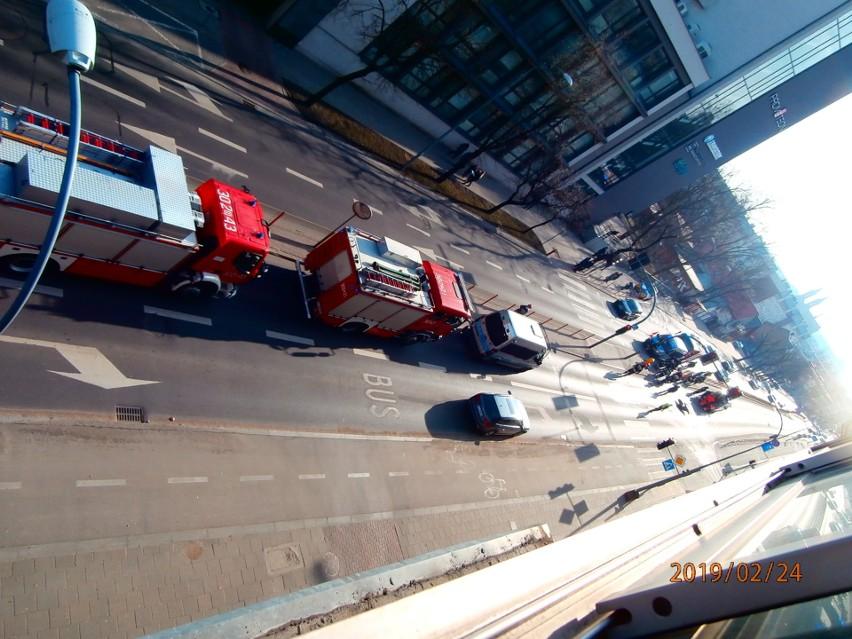 Do wypadku doszło w pobliżu Komendy Wojewódzkiej Policji w...