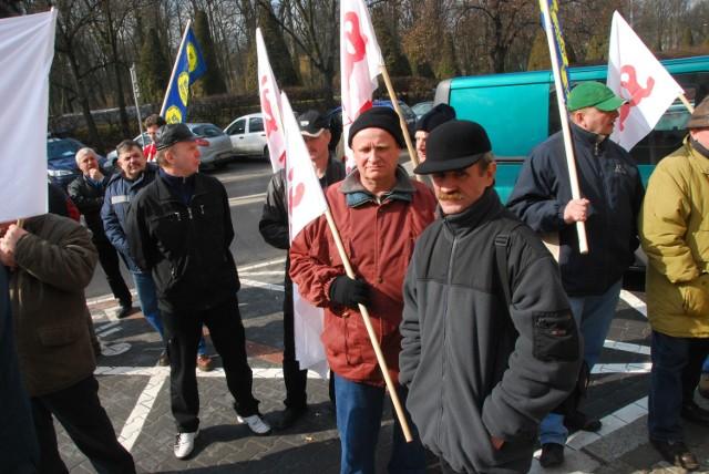 Protesty pracowników ZNTK to ostatnio bardzo częsty widok
