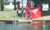 Dramat nad zalewem Borki w Radomiu. Mężczyzna zniknął pod wodą. Strażacy odnaleźli ciało