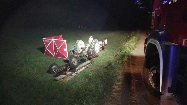 W wypadku zginęło dwóch rolników.