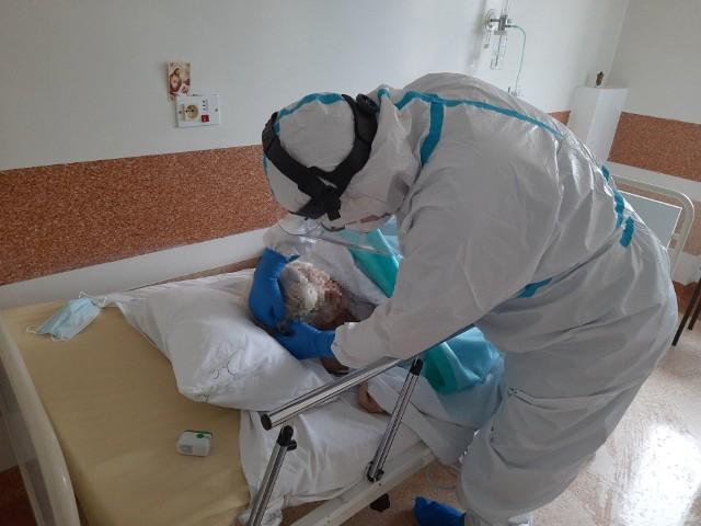 Oddział covidowy w szpitalu przy ul. Żurawiej w Białymstoku