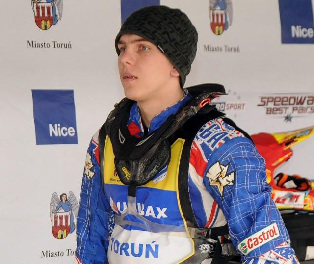 Wiktor Kułakow dobrze spisał się w pierwszym ekstraligowym sezonie.