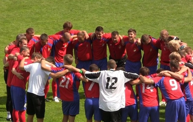 W ostatnim sparingu przed rozpoczęciem rozgrywek III ligi, Gryf Słupsk pokonał 10:0 (5:0) juniorów starszych BKS Bydgoszcz.