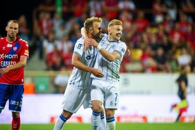 Christian Gytkjaer w tym sezonie dla Lecha zdobył 18 goli - 15 w PKO Ekstraklasie i 3 w Totolotek Pucharze Polski.