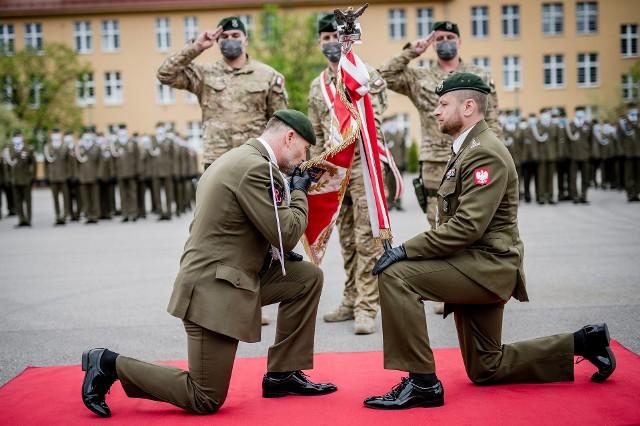Nowy dowódca Jednostki Wojskowej Komandosów w Lublińcu przejął obowiązki od poprzednika