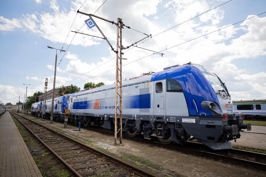 Nowe lokomotywy elektryczne Griffin rozwijające prędkość do 160 km/h zajechały do PKP Intercity. Sprawdź, na jakich trasach będą kursować