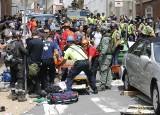 USA: Szaleniec wjechał w tłum w Charlottesville. 1 osoba nie żyje, są dziesiątki rannych [ZDJĘCIA]