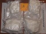 Zabrze: Pseudokibic zatrzymany za posiadanie ponad 4 kilogramów narkotyków